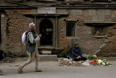 Pre earthquake Kathmandu Nepal Royalty Free Stock Photos