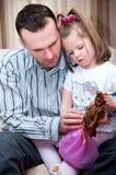 Père et descendant Photos stock
