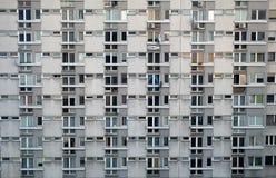 Pre-fabricated panel building Stock Photo