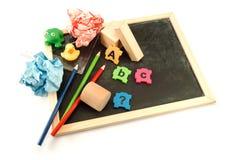 Pre ferramentas da escola. Imagem de Stock