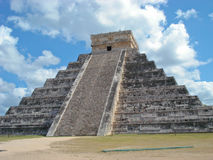 Pre-Hispanic City of Chichen Itza Stock Images