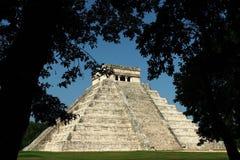 Pre-Hispanic City of Chichen Itza Stock Photos
