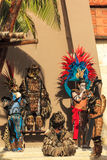Pre-Hispanic Mayan performance Royalty Free Stock Images