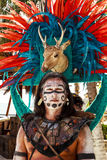 Pre-Hispanic Mayan performance. COSTA MAYA MEXICO JAN 30 2016:Pre-Hispanic Mayan performance called `Dance of the Owl` in Costa Maya Cruise ship Terminal & Stock Photos