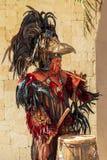 Pre-Hispanic Mayan performance Stock Photography