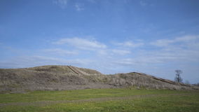Pre-historic Cahokia Mounds, IL Stock Photos