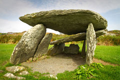 Pre historic stone portal Stock Photo