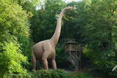 Pre-historic Zoo Park Royalty Free Stock Photography
