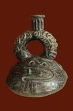 Pre Inca di ceramica immagine stock