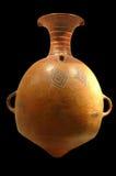Pre Inca di ceramica fotografia stock