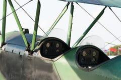Pre instrutor de Polikarpov Po-2 do soviete de WWII, bombardeiro de noite Imagem de Stock Royalty Free