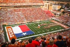 Pre-jogo da Universidade do Texas Foto de Stock Royalty Free