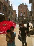 Pre jordskalv Katmandu Nepal fotografering för bildbyråer