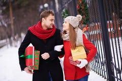 Pre-Kerstmisgang Stock Afbeeldingen