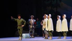 "Pre krigmobilisering-Peking opera som ""Taking Tiger Montain By Strategyâ € Royaltyfri Bild"