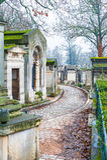 Père Lachaise Cemetery Stock Photos