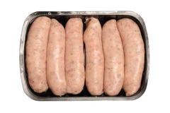 Pre-packed сосиски Стоковые Изображения RF