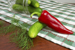 Pre-Pickling Royalty Free Stock Photo