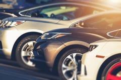 Pre Posiadać samochody Dla sprzedaży zdjęcia stock
