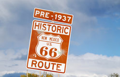 Pre-1937 Route 66 Stock Photography