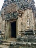 Pre Rup świątynia Kamienna dekoracja Basowa ulga starożytna architektury fotografia stock