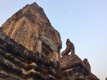Pre Rup świątynia Powstająca Księżyc Kulturalna architektura fotografia royalty free