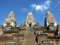 Pre Rup. Photo of the Pre Rup temple near angkor wat in siem reap, Cambodia Stock Photography