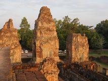Pre Rup, Hinduska świątynia przy Angkor, Kambodża Zdjęcie Royalty Free