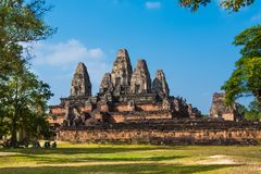 Pre Rup Prasat temple, Angkor, Siem Reap, Cambodia royalty free stock photo