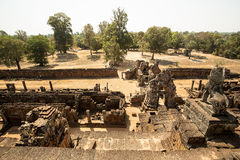 Pre Rup South gate panorama. View Stock Photography