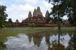 Pre Rup tempel arkivbild
