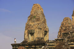 Pre Rup temple, Angkor area, Siem Reap, Cambodia Royalty Free Stock Images