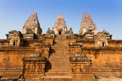 Pre Rup Temple in Angkor, Cambodia Royalty Free Stock Photos