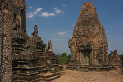 Pre Rup temple in Angkor city Royalty Free Stock Photo