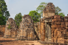 Pre Rup temple in Angkor city Royalty Free Stock Image