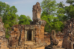 Pre Rup temple in Angkor city Royalty Free Stock Images