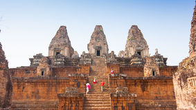 Pre rup temple in Angkor complex in Cambodia Stock Photos