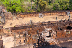 Pre rup temple in Angkor complex in Cambodia Stock Image