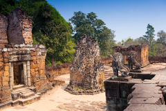 Pre rup temple in Angkor complex in Cambodia Royalty Free Stock Photo