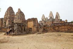 Pre Rup temple ruins Royalty Free Stock Photography