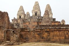 Pre Rup temple ruins Royalty Free Stock Photo
