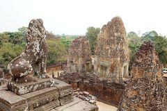 Pre Rup temple ruins Stock Photo