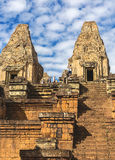Pre Rup Temple: Towers and galleries at morning. Royalty Free Stock Images