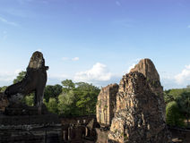 Pre Rut. Ankor wat style temple built in the second half of the 12th century in cambodia siem reap ankorian period Royalty Free Stock Images