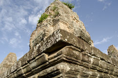 Pre Rut. Ankor wat style temple built in the second half of the 12th century in cambodia siem reap ankorian period Royalty Free Stock Image