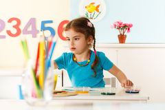 Pre-school education Royalty Free Stock Images