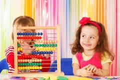 Pre-school onderwijs Stock Foto