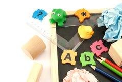Pre school tools. Stock Photo