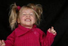 Pre-schooler de risa Imagenes de archivo