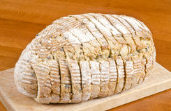 Pre-sliced Bread Close Up Royalty Free Stock Photography